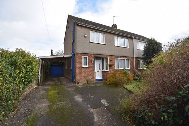 Thumbnail Semi-detached house for sale in White Lodge Road, Staple Hill, Bristol