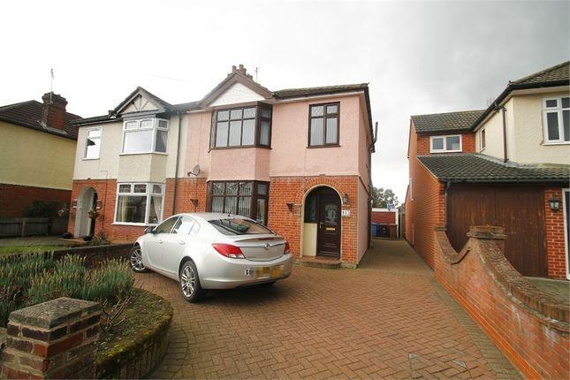 Thumbnail Semi-detached house for sale in Sidegate Lane, Ipswich, Suffolk