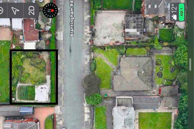 Thumbnail Land for sale in Alexandra Road South, Chorlton Cum Hardy, Manchester