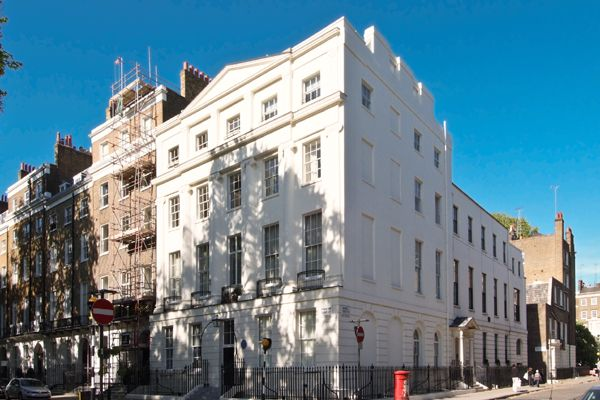 Thumbnail Flat to rent in Bryanstan Square, London