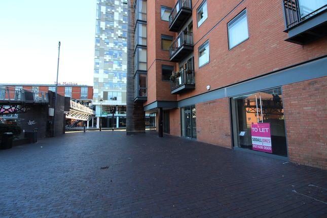 Thumbnail Retail premises to let in Waterfront Walk, Birmingham