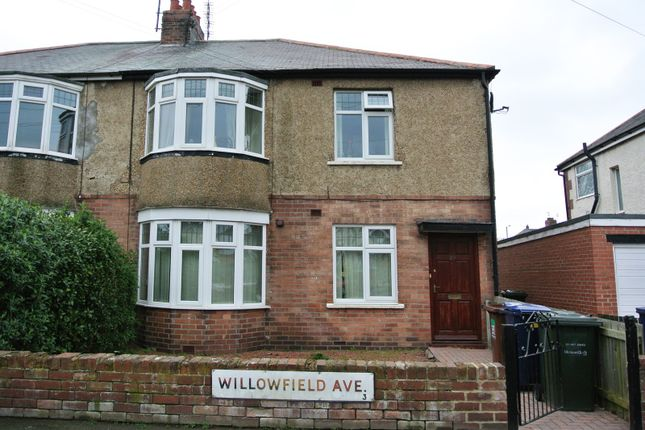 Thumbnail Flat to rent in Willowfield Avenue, Newcastle Upon Tyne