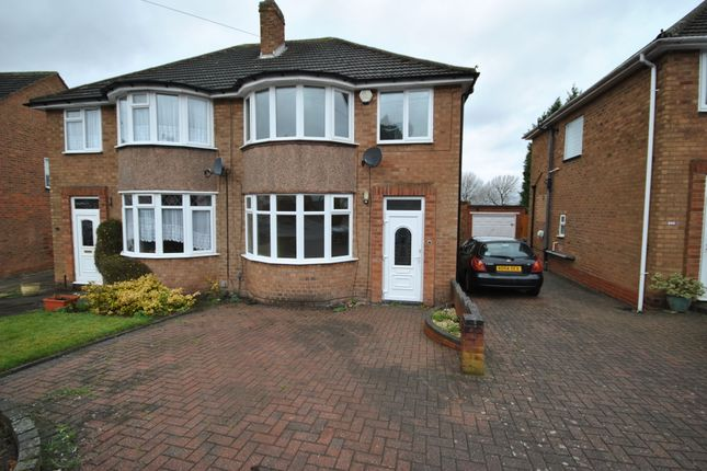 3 bed semi-detached house to rent in Walford Drive, Solihull, West Midlands