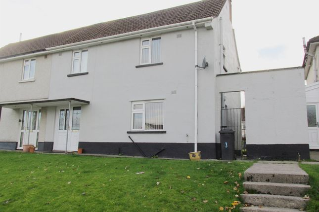 Thumbnail Semi-detached house for sale in Heol Tai Mawr, Merthyr Tydfil
