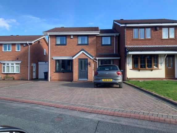 Thumbnail Detached house for sale in Croxley Gardens, Willenhall, West Midlands