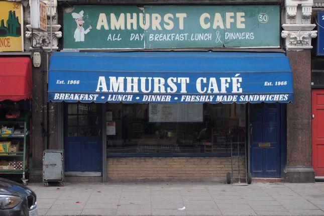 Thumbnail Restaurant/cafe to let in Amhurst Road, Hackney