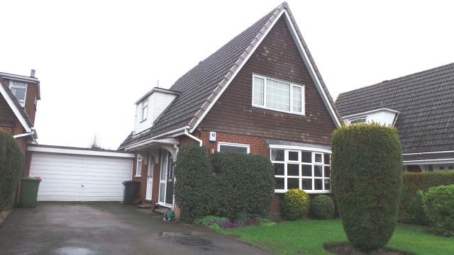 Thumbnail Detached house for sale in Glebe Fields, Curdworth, Sutton Coldfield, West Midlands