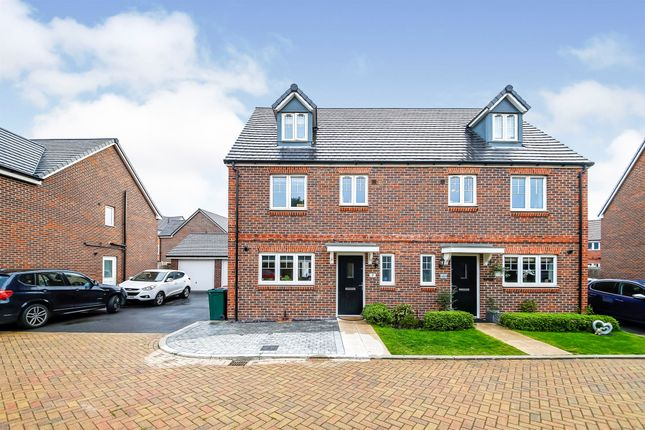 Thumbnail Semi-detached house for sale in Buttermere Close, Crawley
