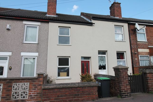 Thumbnail Terraced house to rent in Sutton Road, Huthwaite, Sutton-In-Ashfield