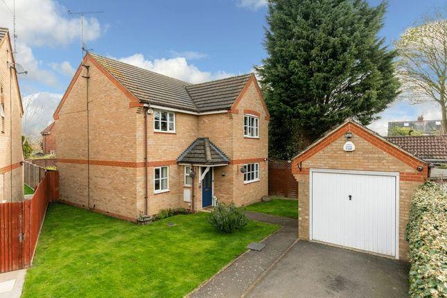 Thumbnail Detached house for sale in Mossman Drive, Caddington, Luton