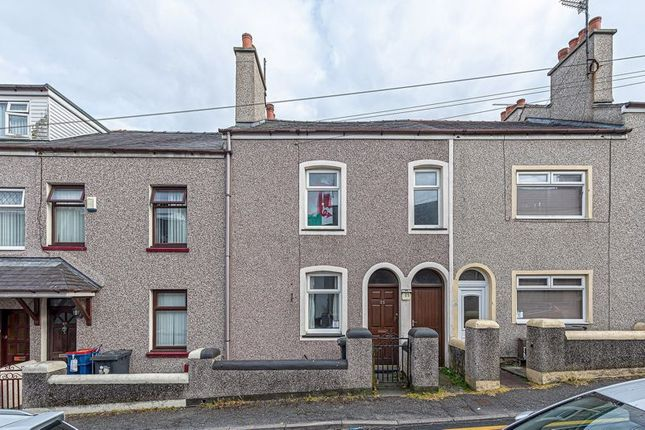 2 bed terraced house for sale in Station Street, Holyhead LL65