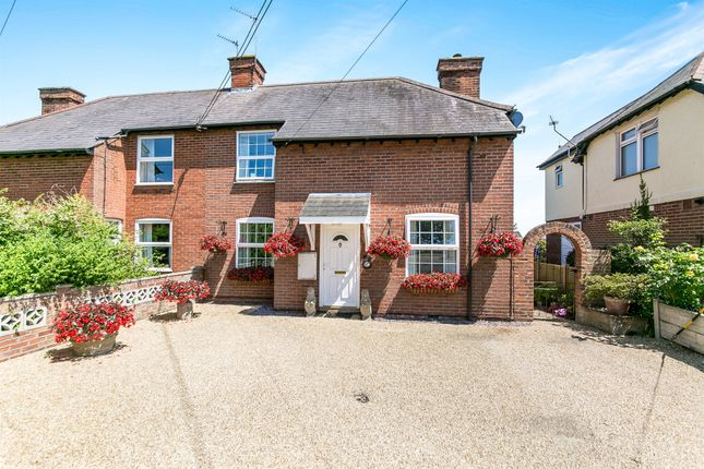 Thumbnail Semi-detached house for sale in Crown Street, Dedham, Colchester