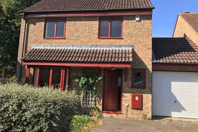 Thumbnail Detached house to rent in Wells Close, Kempston, Bedford