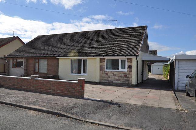 Thumbnail Semi-detached bungalow to rent in Park Drive, Werrington, Stoke-On-Trent