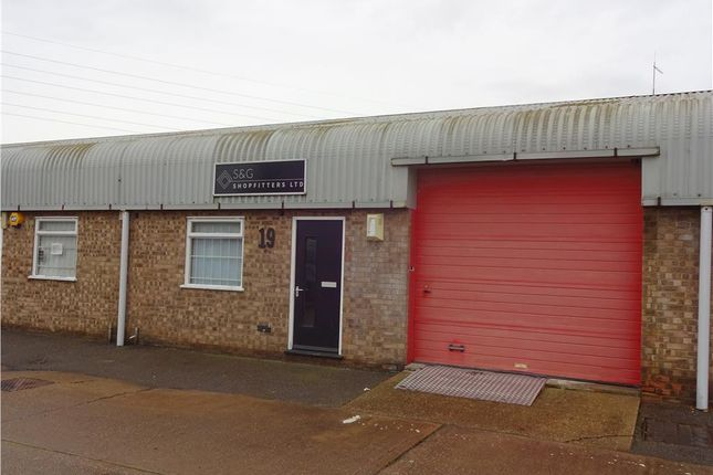Thumbnail Light industrial to let in Unit 19, Halcyon Court, St. Margarets Way, Huntingdon, Cambridgeshire