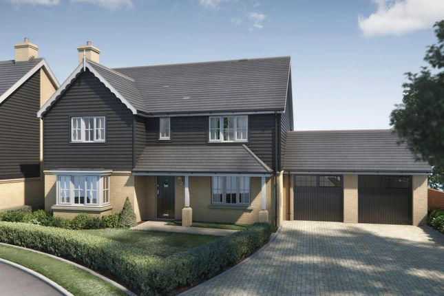 Thumbnail Detached house for sale in Herschel Place, Hawkhurst, Cranbrook