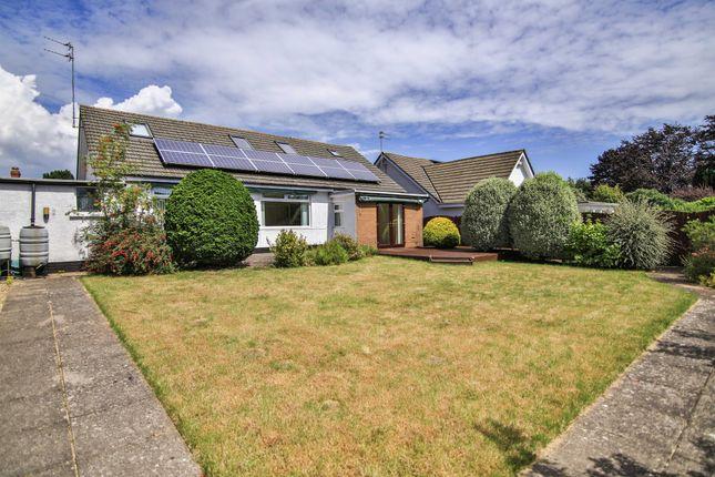 Thumbnail Detached bungalow for sale in Greenway Close, Llandough, Penarth