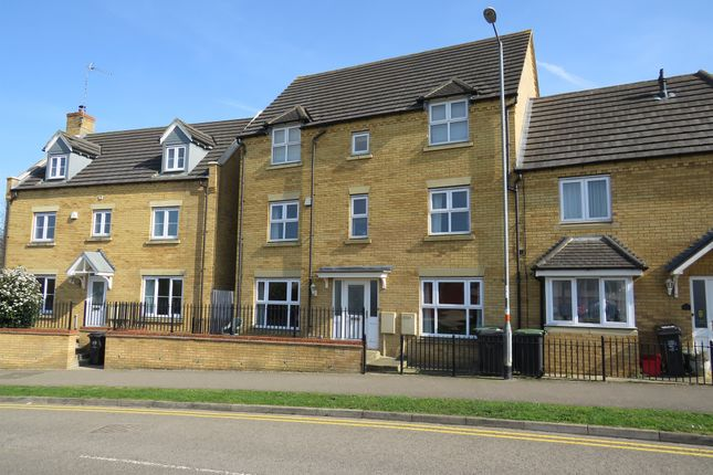 Thumbnail End terrace house for sale in School Lane, Higham Ferrers, Rushden