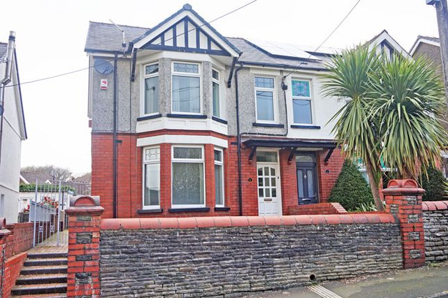 Thumbnail Semi-detached house for sale in Dilwyn Avenue, Ystrad Mynach, Hengoed