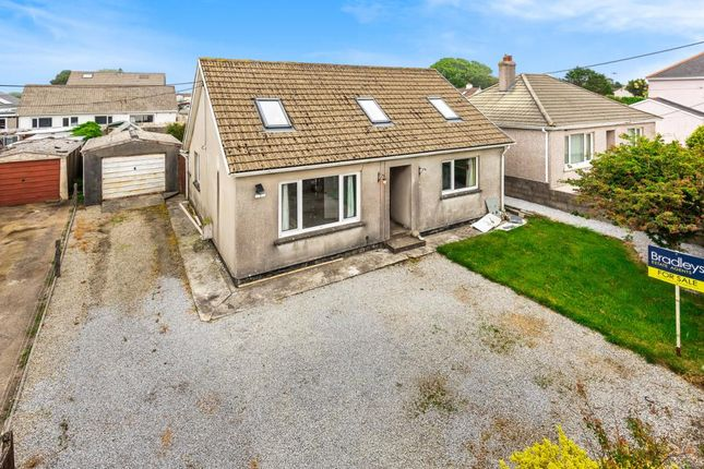 Thumbnail Detached bungalow for sale in Lower Broad Lane, Redruth, Cornwall