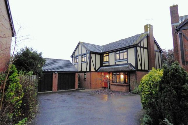Thumbnail Detached house for sale in Chaceley Close, Abbeymead, Gloucester