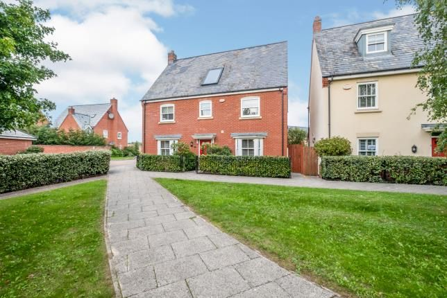 Thumbnail Detached house for sale in Alfred Knight Close, Duston, Northampton, Northamptonshire