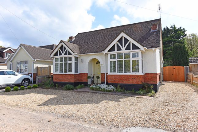 Thumbnail Detached bungalow for sale in Jubilee Road, Mytchett, Camberley
