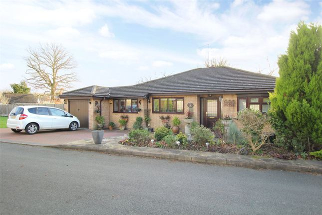 Thumbnail Detached bungalow for sale in Ferndene, Bricket Wood, St. Albans, Hertfordshire