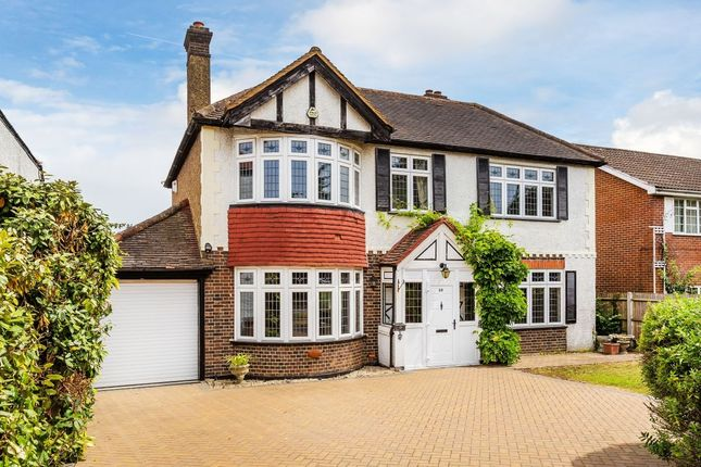 Thumbnail Detached house for sale in Belmont Rise, Cheam, Sutton