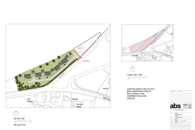 Thumbnail Land for sale in The Heath, Tendring, Clacton-On-Sea