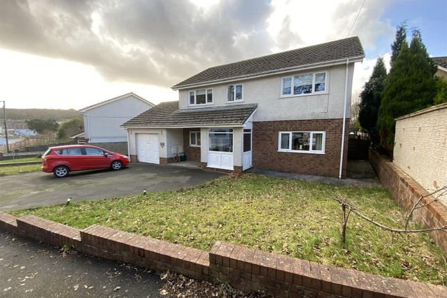 Thumbnail Detached house for sale in Heol Felin, Glanamman, Ammanford