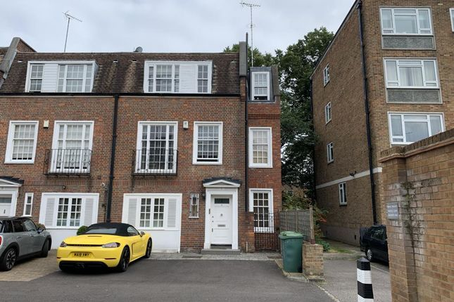 Thumbnail End terrace house for sale in Marston Close, South Hampstead