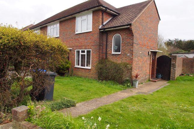 Thumbnail Flat to rent in Upper Brighton Road, Broadwater, Worthing
