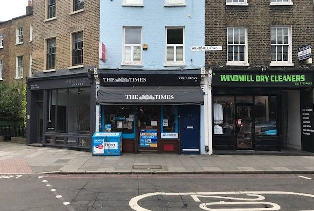 Retail premises to let in Windmill Row, Kennington