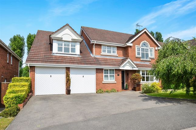 Thumbnail Detached house for sale in Larch Close, Underwood, Nottingham
