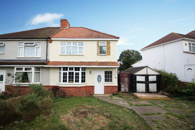 Thumbnail Semi-detached house for sale in Farnborough Crescent, South Croydon, Surrey