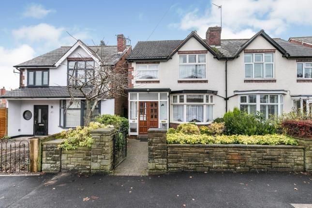 Thumbnail Semi-detached house for sale in Monmouth Road, Smethwick, West Midlands