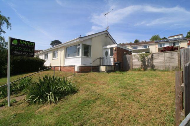 Thumbnail Semi-detached bungalow for sale in Golden Park Avenue, Torquay