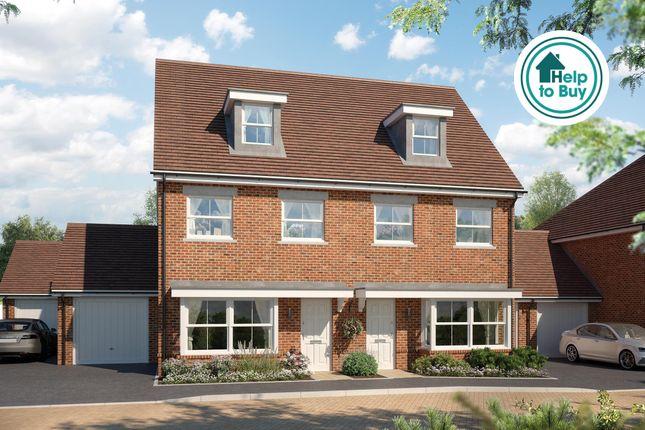 Thumbnail Semi-detached house for sale in Old Guildford Road, Broadbridge Heath, Horsham