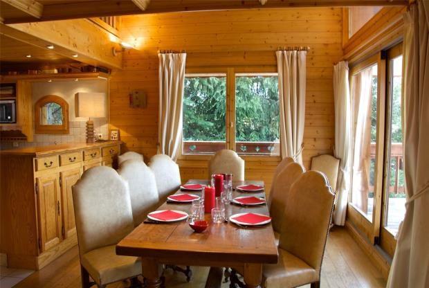 Dining Room of Méribel Sous Morel, Méribel, French Alps, 73550