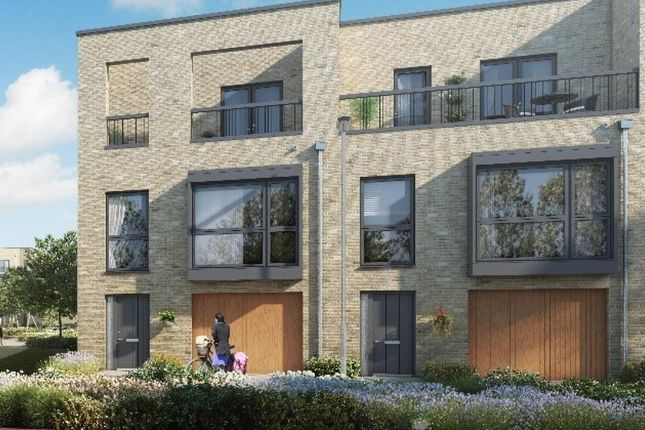 Thumbnail Terraced house for sale in Aura Development, Off Long Road, Trumpington, Cambridge