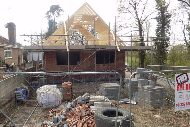 Thumbnail Bungalow for sale in Dob Holes Lane, Smalley, Ilkeston, Derbyshire