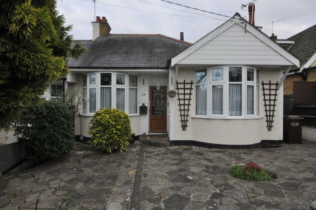2 bed semi-detached bungalow to rent in Broughton Road, Hadleigh, Essex SS7