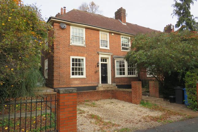 Thumbnail End terrace house for sale in Thorpe Road, Norwich