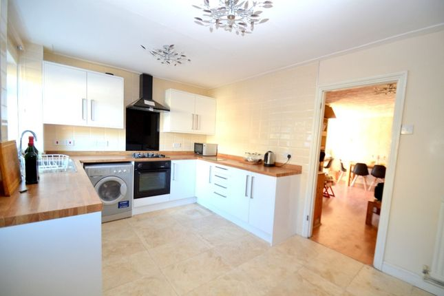 3 bed terraced house for sale in Breedon Close, Corby