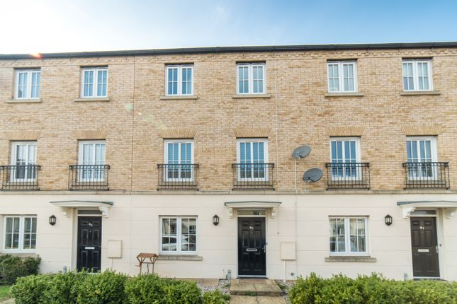 Thumbnail Terraced house for sale in Harlow Crescent, Oxley Park, Milton Keynes