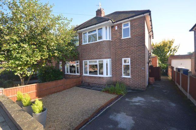 Thumbnail Semi-detached house to rent in Burnside Road, West Bridgford, Nottingham