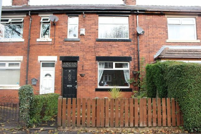 Thumbnail Terraced house to rent in Prince Edward Avenue, Denton, Manchester