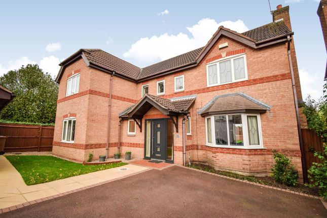 Thumbnail 4 bed detached house to rent in Queensbury Chase, Littleover, Derby