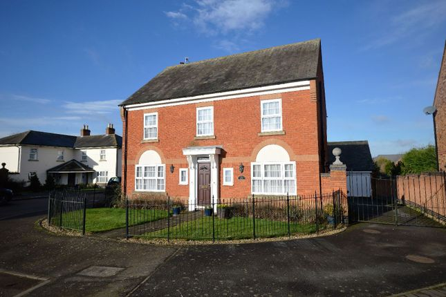 Thumbnail Detached house for sale in Garfield Park, Great Glen, Leicester